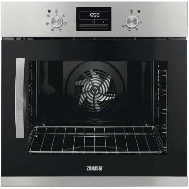 ZAN H594xW594xD568 Single Multifunction Oven - RH Opening