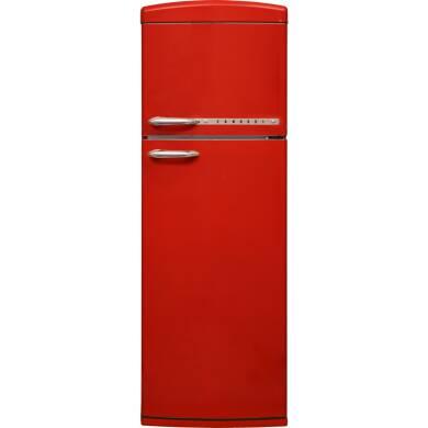 Zanussi H1715xW605xD710 Freestanding Retro Fridge Freezer - Frost Free