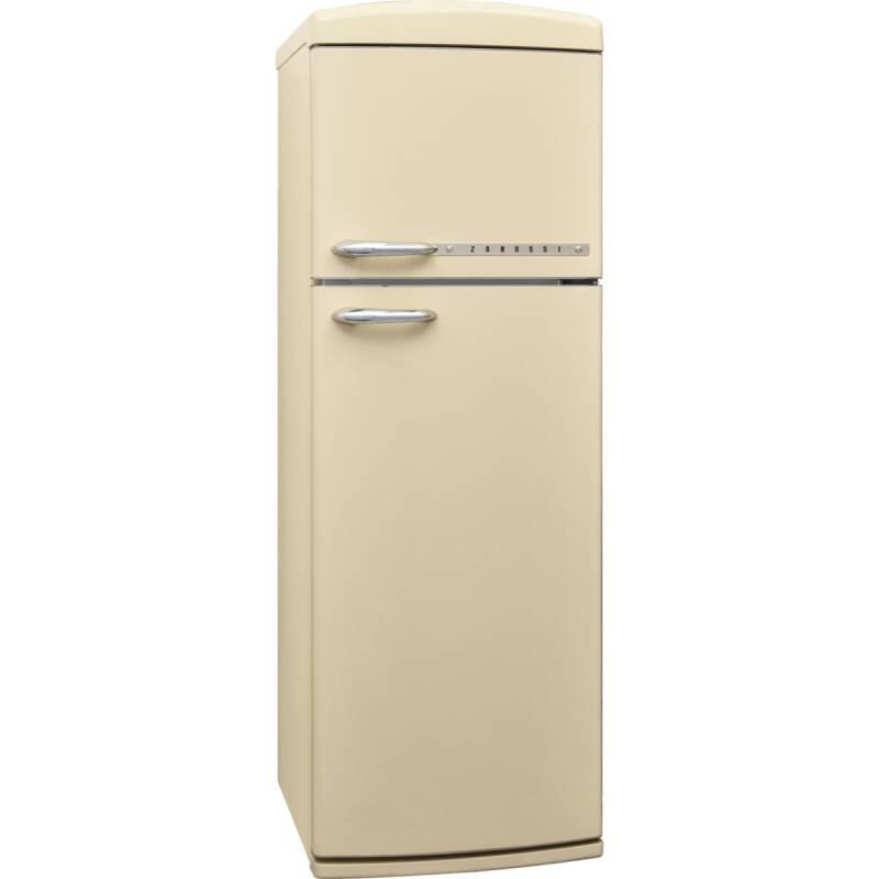 Zanussi H1715xW605xD710 Freestanding Retro Fridge Freezer - Frost Free additional image 1