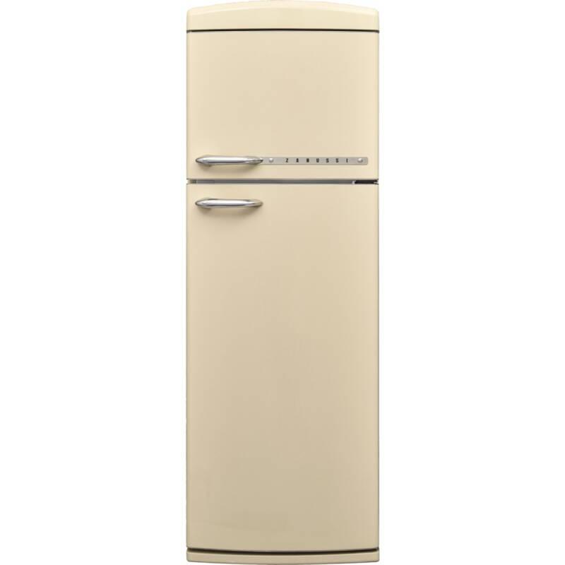 Zanussi H1715xW605xD710 Freestanding Retro Fridge Freezer - Frost Free primary image