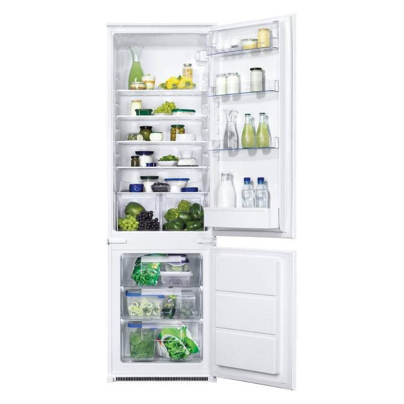 Zanussi H1772xW540xD549 70/30 Integrated Fridge Freezer primary image