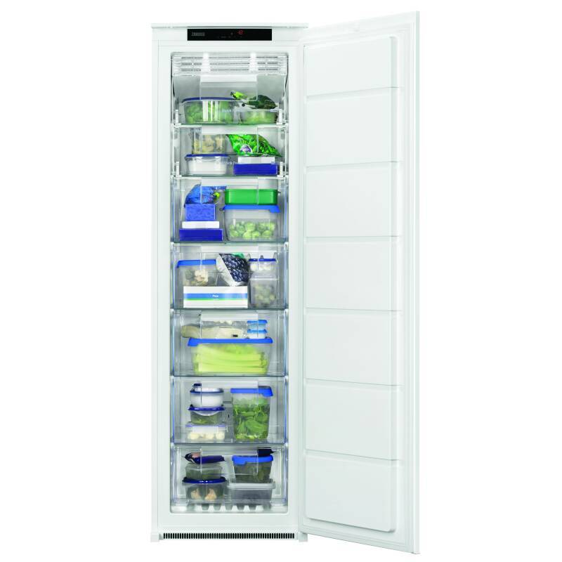 Zanussi H1772xW540xD549 Integrated Tower Freezer (Frost Free) primary image