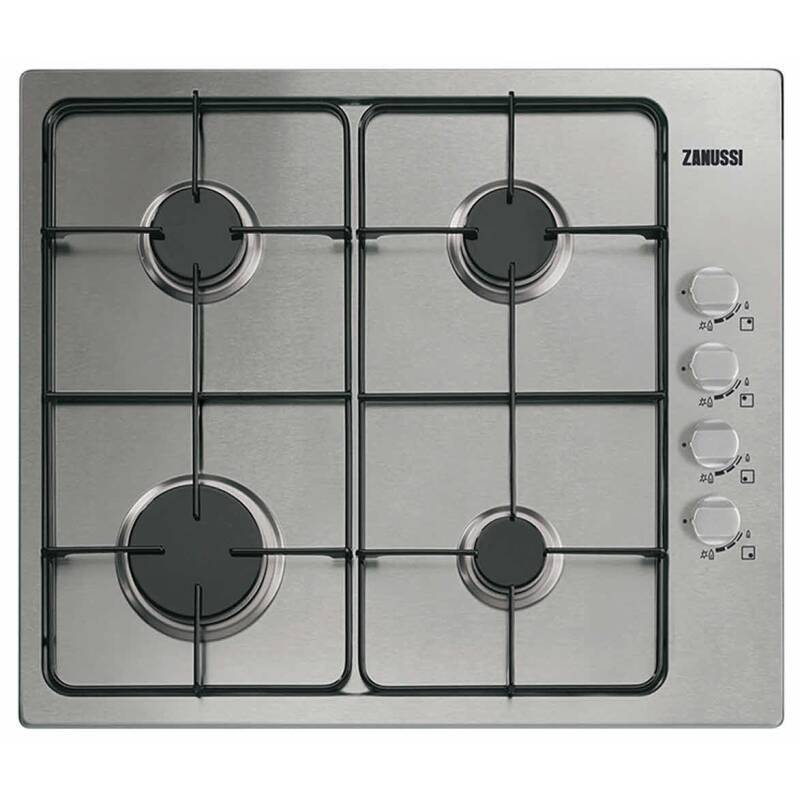 Zanussi H30xW580xD500 Gas 4 Burner Hob - Stainless Steel primary image
