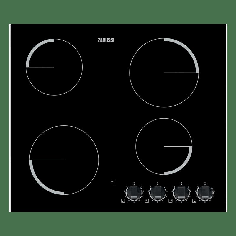 Zanussi H50xW590xD520 Ceramic 4 Burner Hob primary image