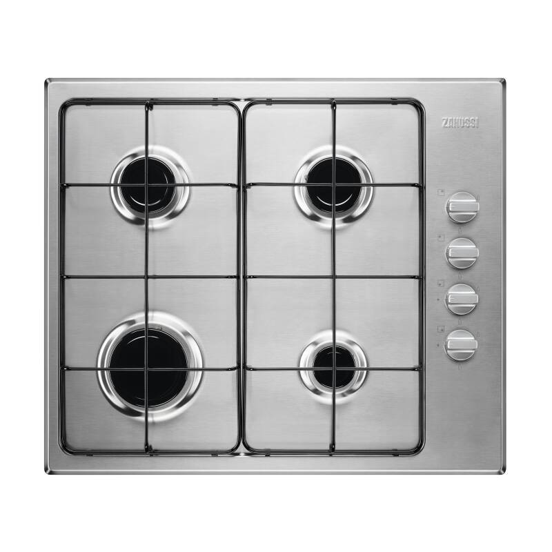 Zanussi H51xW580xD500 4 Burner Gas Hob - Stainless Steel primary image