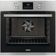 Zanussi H589xW594xD568 Single Multifunction Oven