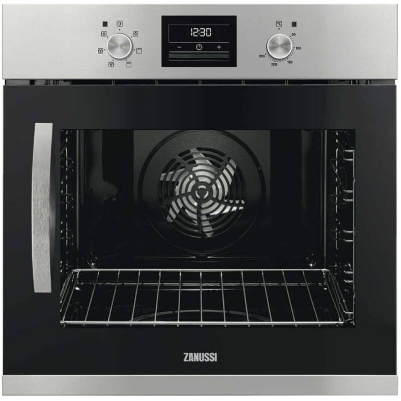 Zanussi H589xW594xD568 Single Multifunction Oven - RH Opening primary image