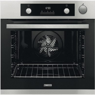 Zanussi H589xW594xD568 Single Multifunction Oven With Steam Assit