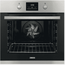 Zanussi H589xW594xD568 Single Multifunction Pyrolytic Oven