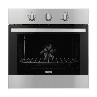 Zanussi H600xW560xD550 Single Fan Oven - Stainless Steel