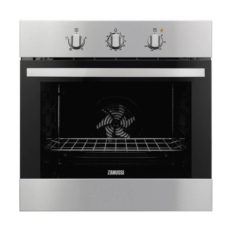 Zanussi H600xW560xD550 Single Fan Oven - Stainless Steel primary image