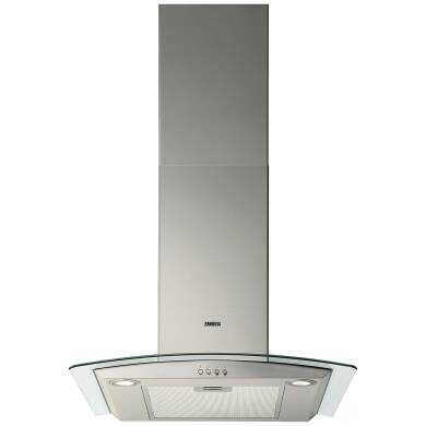 Zanussi H603xW598xD450 Chimney Hood - Stainless Steel