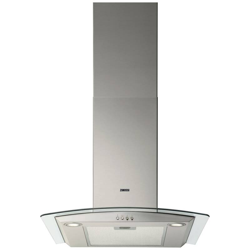 Zanussi H603xW598xD450 Chimney Hood - Stainless Steel primary image