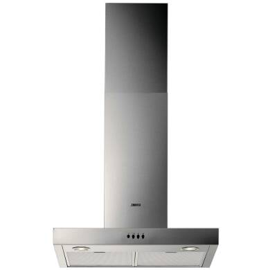 Zanussi H622xW598xD450 Chimney Hood - Stainless Steel
