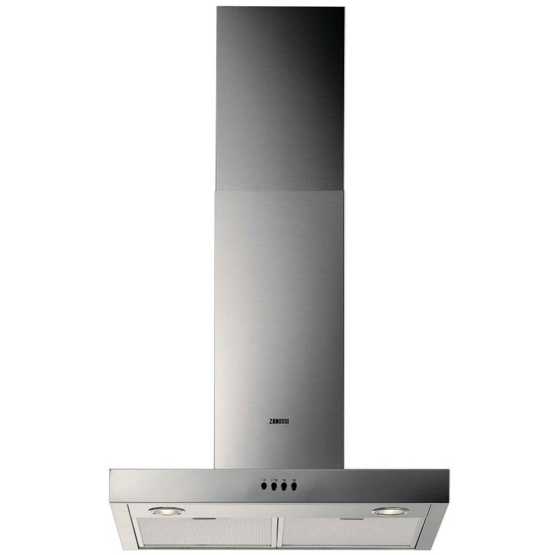 Zanussi H622xW598xD450 Chimney Hood - Stainless Steel primary image