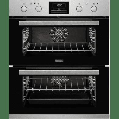Zanussi H715xW560xD548 Built Under Multifunction Double Oven
