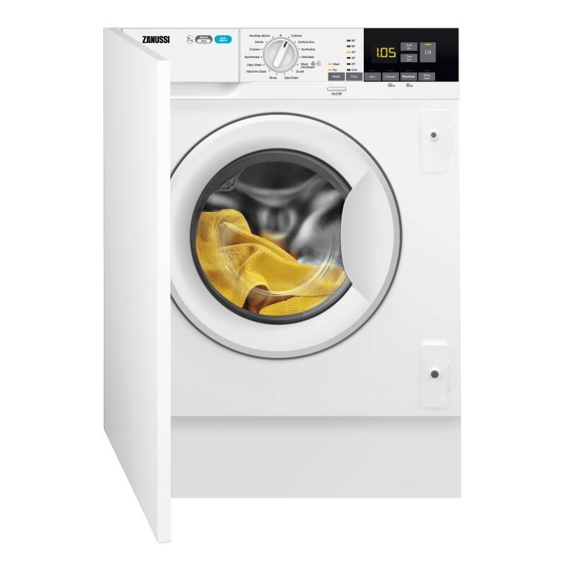 Zanussi H819xW596xD540 Integrated Washer Dryer (7kg) primary image