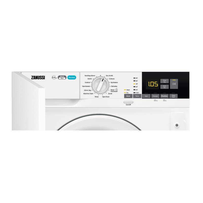 Zanussi H819xW596xD540 Integrated Washer Dryer (8kg) additional image 9