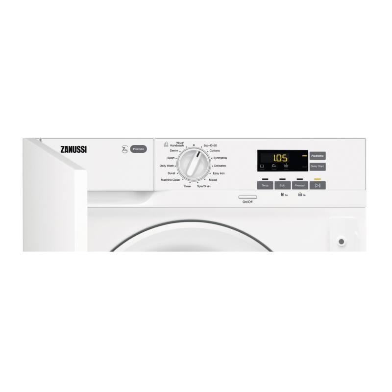 Zanussi H819xW596xD540 Integrated Washing Machine (7kg) additional image 4