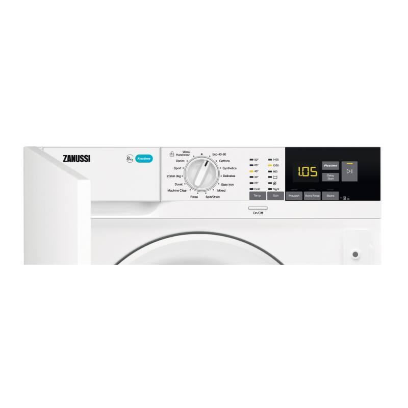 Zanussi H819xW596xD540 Integrated Washing Machine (8kg) additional image 6