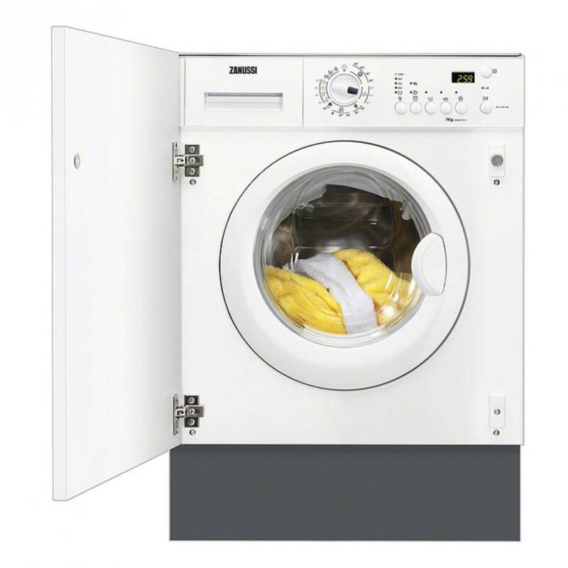 Zanussi H820xW596xD544 Integrated Washer Dryer (7kg) primary image
