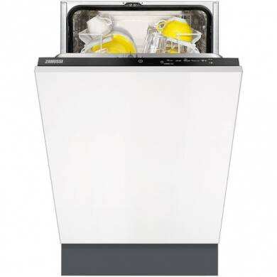 Zanussi H870xW450xD550 Fully Integrated Slimline Dishwasher