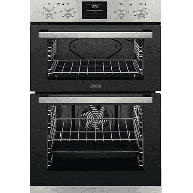 Zanussi H888xW594xD548 Built In Multifunction Double Oven