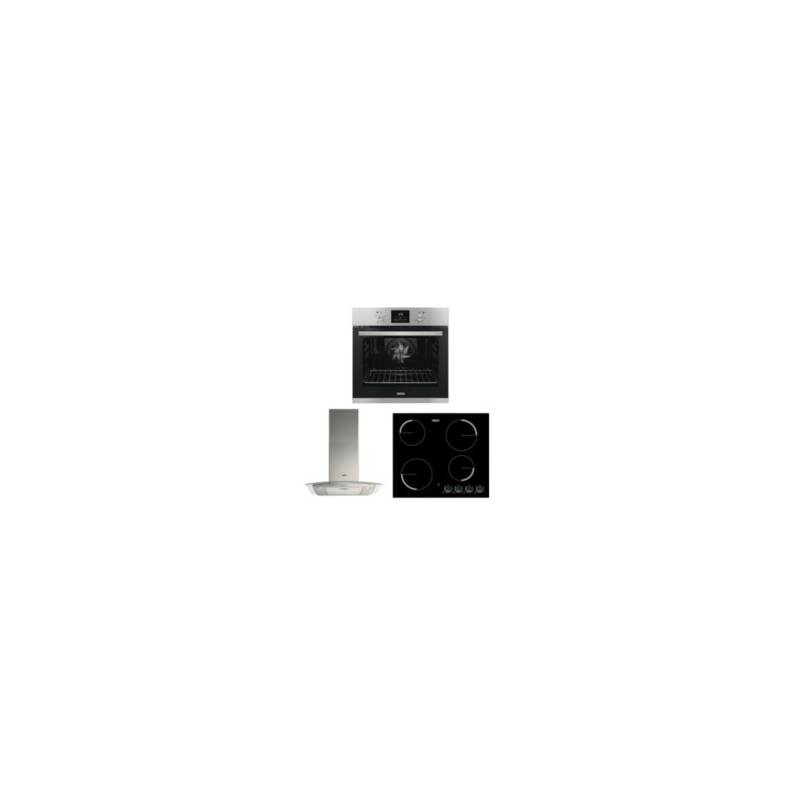 Zanussi Single Oven, Cooker Hood and Ceramic Hob Package primary image