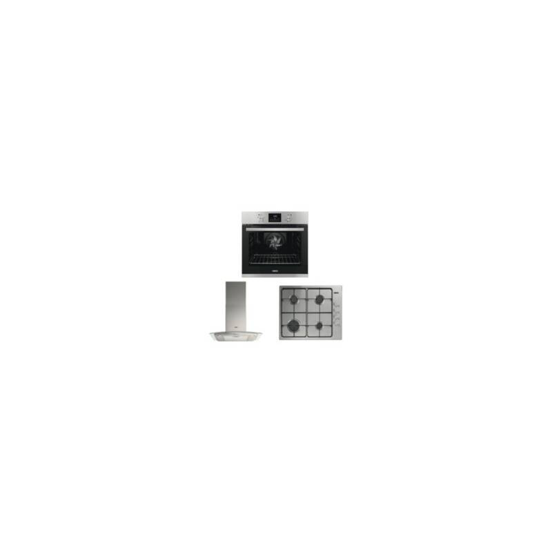 Zanussi Single Oven, Cooker Hood and Gas Hob Package primary image