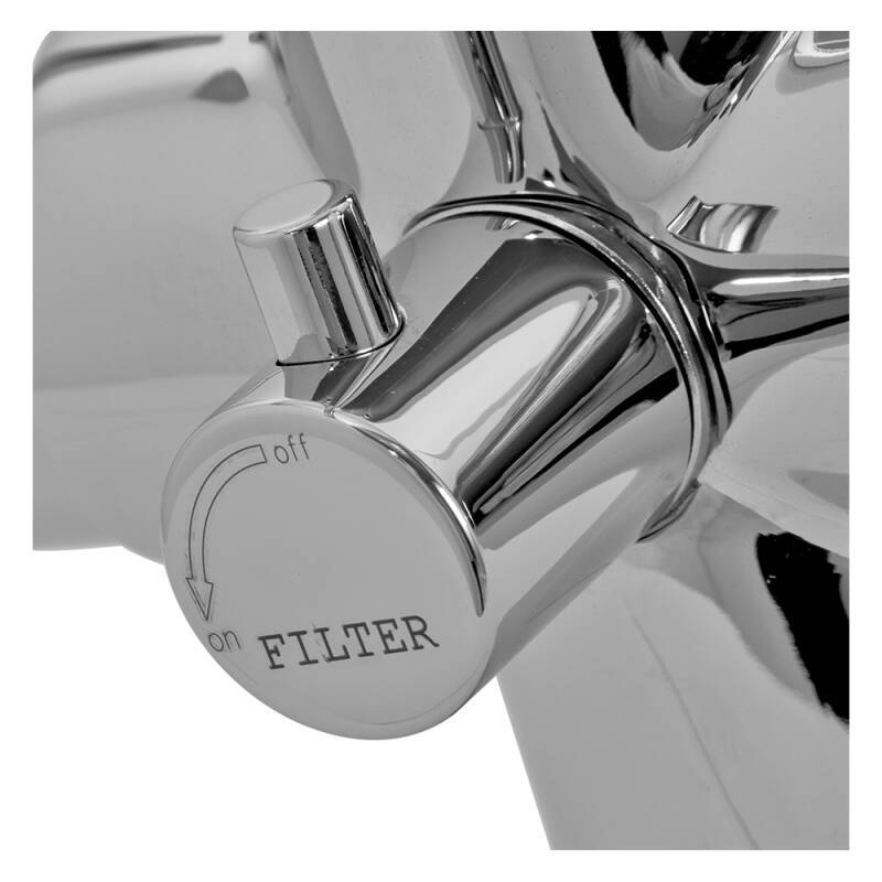 Zeus Filter Tap Chrome - High Pressure additional image 4