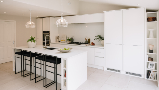 Wonderful white and contemporary