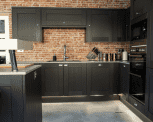 Industrial-Style Kitchen