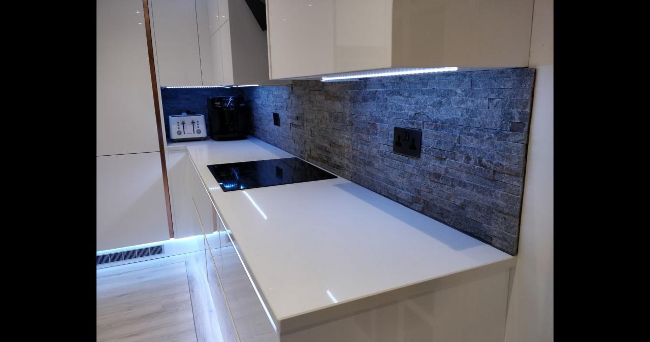 A modern party kitchen