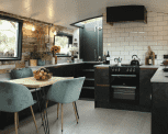 A kitchen that makes waves