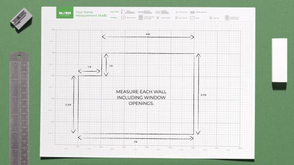 Measure your kitchen