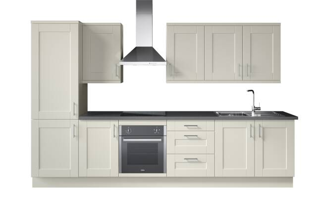 WREN KITCHENS VOGUE SHAKER 5 PIECE MATT VS. B&Q ALPINA SHAKER MATT*