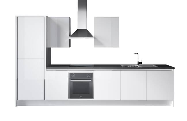 Wren Kitchens Infinity Plus Milano Ultra vs. John Lewis Alessa*