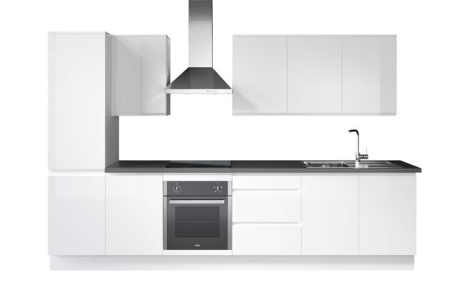 Wren Kitchens Infinity J-Pull vs. Magnet Luna White*