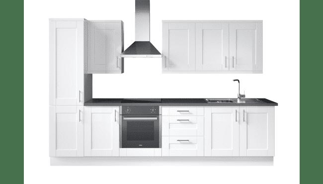 Wren Kitchens Infinity Shaker White Gloss vs. Howdens Burford White Gloss