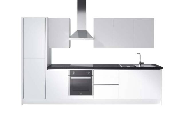 Wren Kitchens Infinity Plus Milano Ultra Bianco Gloss vs. Magnet Integra Fusion White*