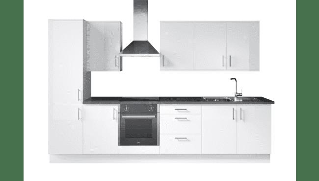 Wren Kitchens Infinity Plus Ultra Bianco Gloss vs. Magnet Fusion White