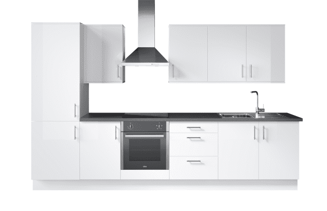 Wren Kitchens Vogue Slab Matt vs. Wickes Melrose Matt*