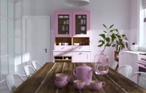 How to add colour using kitchen accessories