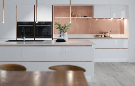 How to add copper accessories to a kitchen