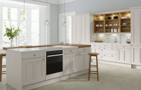 How to install integrated appliances into an old kitchen