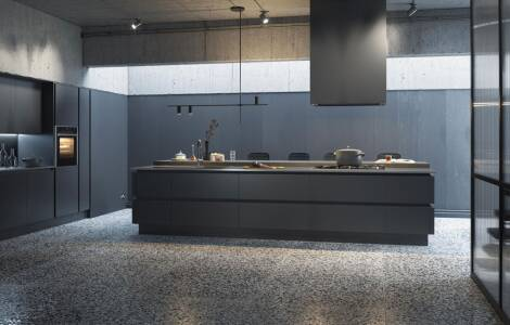 Getting industrial with kitchen designs