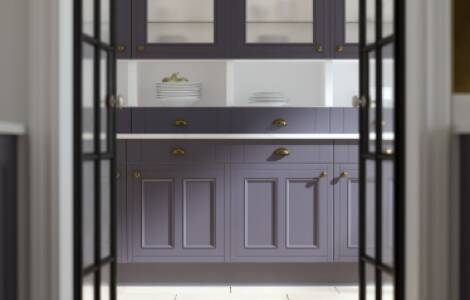 Flooring ideas for kitchens with dark cabinets