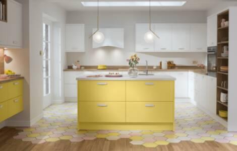 Kitchen island design ideas: Tips on choosing flooring