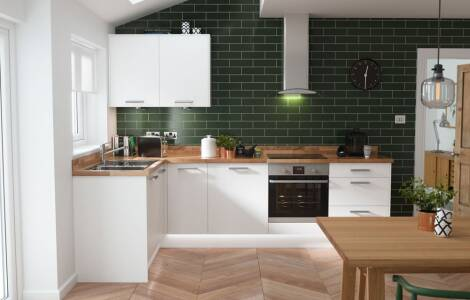Top tips for designing an L-Shaped Kitchen