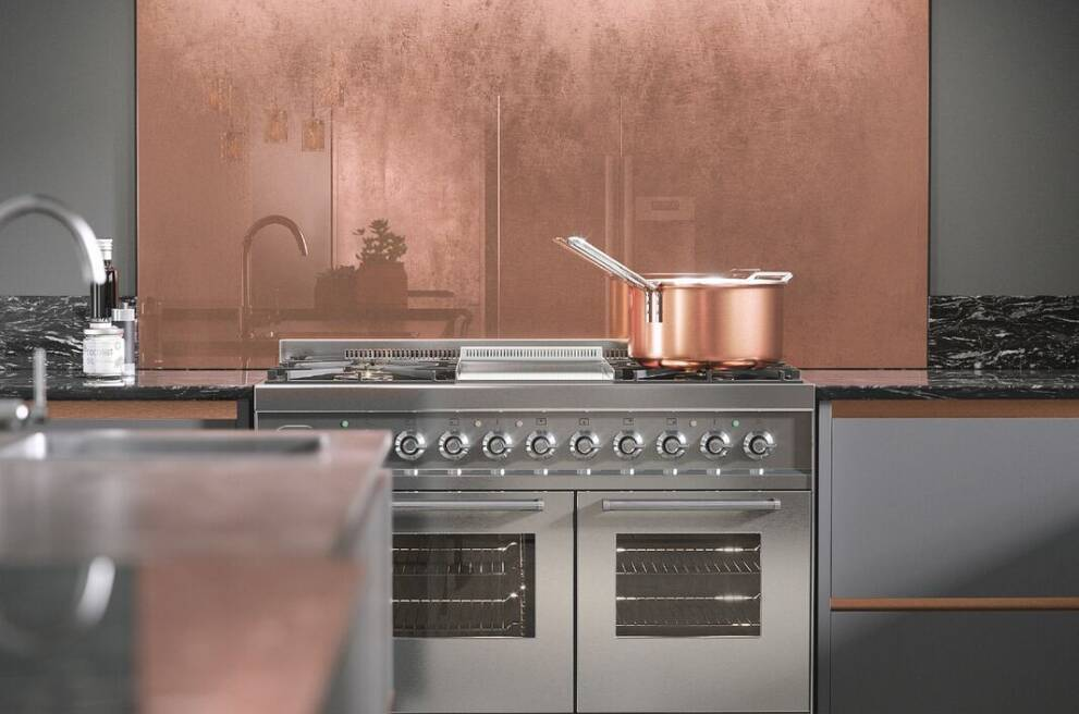 Copper cooking utensils